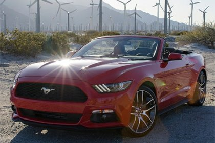 Ford Mustang Convertible 5.0 Ti-VCT AT V8 GT