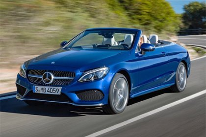 Mercedes-Benz C kabriolet 220 d 4MATIC 200