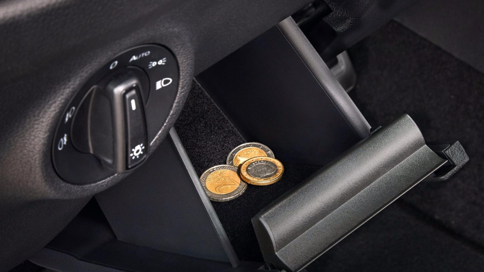 Simply Clever: přihrádka na rukavice/mince