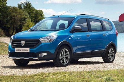 Dacia Lodgy Stepway 1.6 SCe Outdoor 7 míst 2017